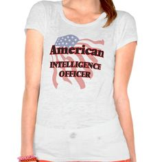 American Intelligence Officer T Shirt, Hoodie Sweatshirt
