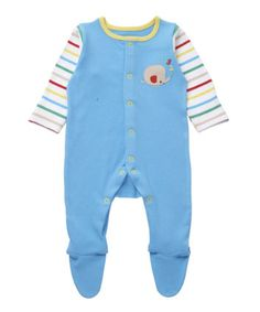 Mothercare Lion and Elephant Sleepsuit £6