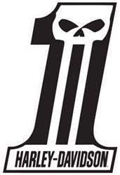 Harley-Davidson Dark Custom #1 Tin Sign