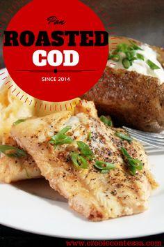 Pan Roasted Cod-Creole Contessa
