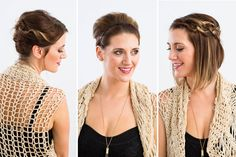 Got short hair? DIY these 'dos.