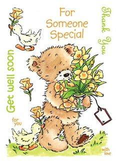 Get Well Messages, Get Well Wishes, Get Well Cards, Get Well Soon Funny, Get Well Soon Quotes, Joy And Sadness, Teddy Bear Pictures, Bee Creative, Tatty Teddy