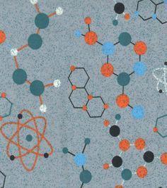 Snuggle Flannel Fabric- ChemistrySnuggle Flannel Fabric- Chemistry,