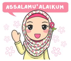 Bunga back again with new stickers that you can use everyday, let's use this stikers for you daily conversation Party Girl Quotes, Funny Girl Quotes, Hijab Drawing, Islamic Cartoon, Hijab Cartoon, Whatsapp Wallpaper, New Sticker, Cute Cartoon Wallpapers, Kawaii