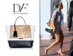 Beyonce with her Top Handle DVF Bag!