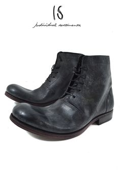 IS by individual sentiments nature gelcrack cowski 5hole boots out heel