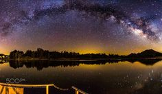The Star Reflections  A perfect Night to view the amazing milky way rising over a lake. I was lucky enough for this panorama that there was no wind - this helped me to get the star reflections.  Camera: Canon EOS 5D Mark III Lens: Tokina AT-X 116 PRO DX II 11-16mm F2.8 Focal Length: 16mm Shutter Speed: 30sec Aperture: f/2.8 ISO/Film: 6400  Image credit: http://ift.tt/2avsePc Visit http://ift.tt/1qPHad3 and read how to see the #MilkyWay  #Galaxy #Stars #Nightscape #Astrophotography