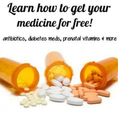How anyone SHOULD be getting their medicine for free!