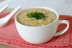 Keep warm this Winter with a big bowl of Thermomix Chicken & Corn Soup.