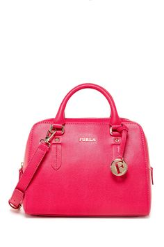Elena Small Leather Satchel by Furla on @nordstrom_rack