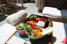 Enjoy a healthy poolside fare Beverly Wilshire, Pool Bar, Bar Menu, Four Seasons Hotel, Smoothies, Healthy, Food, Smoothie, Essen