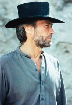 "Clint Eastwood in ""Pale Rider"" (1985). Director: Clint Eastwood."