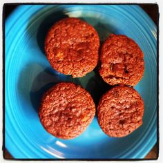Delicious Grain Free Pumpkin Chocolate Chip Muffins!