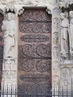 amazing door...Notre Dame, Paris