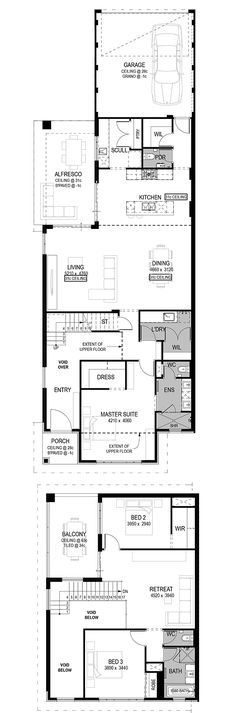 The Assisi Floorplan by National Homes