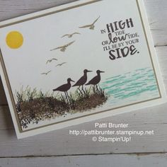 Stampin' Up! High tide stamp set,