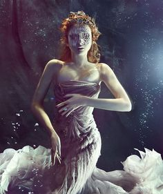 Underwater fashion photography by Zena Holloway