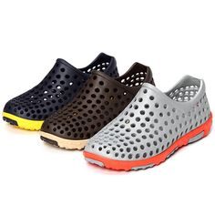Big Size Hollow Out Beach Breathable Slip On Casual Flat Shoes