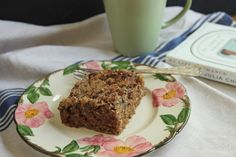 AMISH BREAKFAST CAKE: Oatmeal Cake with Coconut-Pecan Topping