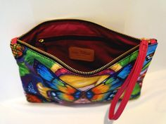 Butterfly Clutch Bag - GreyFall Outlet