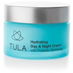 Tula Hydrating Day & Night Cream (£40) ❤ liked on Polyvore featuring beauty products, skincare, face care, face moisturizers and face moisturizer