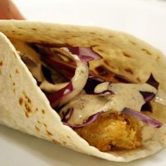 Dinner Tonight: Pan-Fried Fish Tacos with White Sauce Recipe