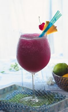 Frozen Pomarita (Pomegranate Margarita)
