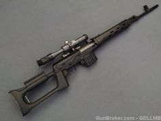 Izmash Dragunov SVD Tiger 7.62X54R Russian 1993 : Semi Auto Rifles at GunBroker.com