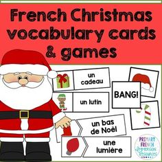Sample French Christmas Letter. French Christmas word wall words and games  graphic images Worksheets Activities songs