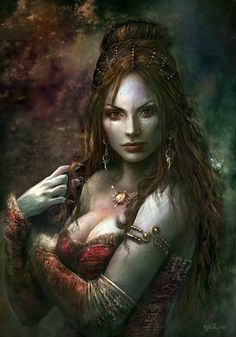 - Dark Fantasy Art by Kirsi Salonen <3 <3