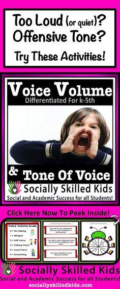 Voice Volume & Tone