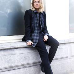 Liza Chloe / S A I N T // L A U R E N T // S U I T //  #Fashion, #FashionBlog, #FashionBlogger, #Ootd, #OutfitOfTheDay, #Style