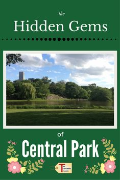 The Hidden Gems in Northern End of Central Park Solo Travel, Travel Usa, Travel Tips, Canada Travel, Travel Destinations, I Want To Travel, Best Places To Travel, Us Vacation Spots, Park Pictures