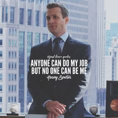 Stand out with your originality because no one can replace you for what you are. #justbravequotes #harveyspecter #suits #monday #mondaymotivation