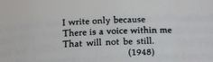 """The last line of Sylvia Plath's """"You Ask Me Why I Spend My Life Writing"""""""