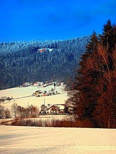 Bohemian forest winter scenery | landscape photography. Aigen-Schlägl, Austria / Österreich