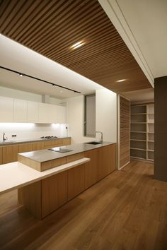 residence, living, wood, louver ChoisPlay, interior