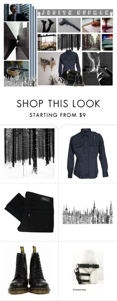 """"""".:*What the hell would I be, without you; Brave face talk so lightly, hide the truth*:."""" by jerana97 ❤ liked on Polyvore featuring Gosh, 5.11 Tactical, Levi's, Dr. Martens and bedroom"""