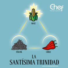 La trinidad de la cocina mexicana