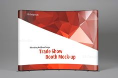 Tradeshow Display Booth Mockup by RD DesignStudio on @creativemarket