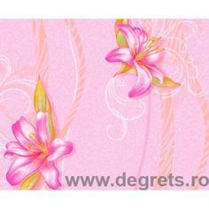 Tapet hârtie Anet 2 roz