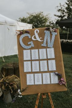 Rustic country table plan // Maureen de Preez Photography // The Natural Wedding Company