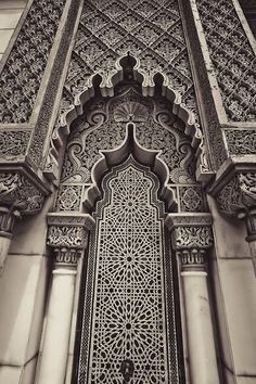 mediterraneum: mediterraneum: The Moroccan Pavilion at Putrajaya, Malaysia - Carla's Decoration Ideas Art Et Architecture, Islamic Architecture, Beautiful Architecture, Architecture Details, Morrocan Architecture, Moroccan Design, Moroccan Decor, Moroccan Style, Moroccan Interiors