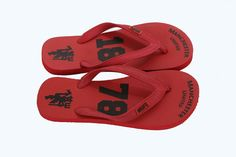 Manchester United 1878 Red Flip-Flop