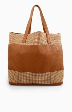 Mini Studded Detail Tote Bag $22