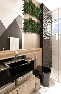 The Insider Secrets of Lovely Contemporary Bathroom Designs Discovered - Pecansthomedecor Contemporary Bathroom, Bathroom Interior Design, Interior, Home Decor, Contemporary Bathrooms, Contemporary Bathroom Designs, Home Interior Design, Interior Design, Bathroom Decor