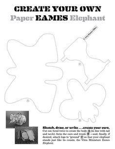 #ClippedOnIssuu from Paper Eames Elephant Template