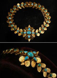Erie Basin Blog — 1830s Persian Turquoise Bracelet, High ...