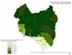 Magyar anyanyelvűek (Kovászna/Háromszék megye 2011)
