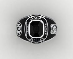 Jack Daniel's Ring by PiettroJewelry on Etsy